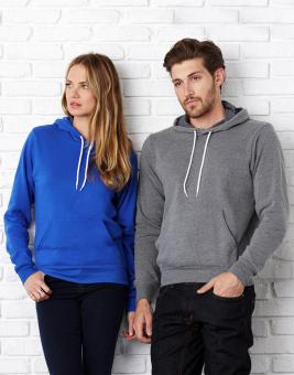 Bella  Unisex Poly-Cotton Pullover Hoodie