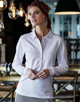 Tee Jays Damen Luxury Langarm Stretch Polo