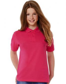 B&C Kinder Safran Poloshirt