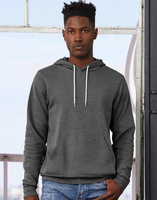 Bella Unisex Poly-Cotton Pullover Kapuzen-Sweatshirt