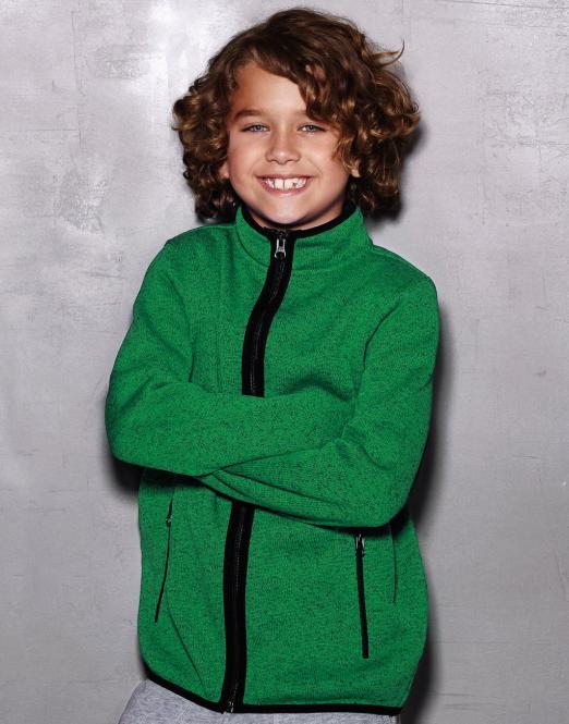Stedman Active Knit Fleece Jacket Kids