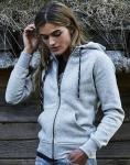 Tee Jays Damen Zip Kapuzen-Sweatshirt